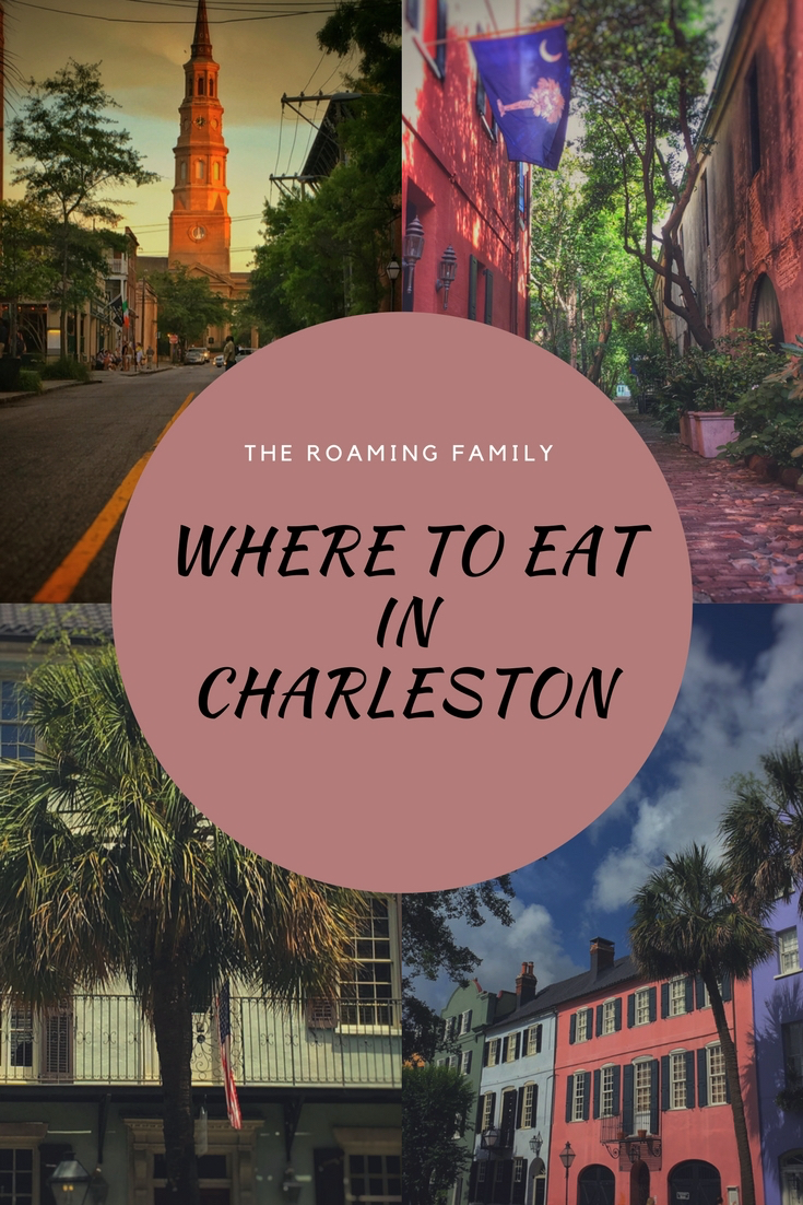 There's not shortage of great restaurants in Charleston, S.C.! We tried out plenty.