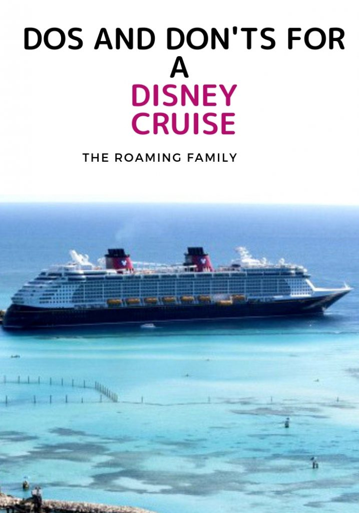 There are soooo many details that go into a Disney Cruise. But they are so fun!