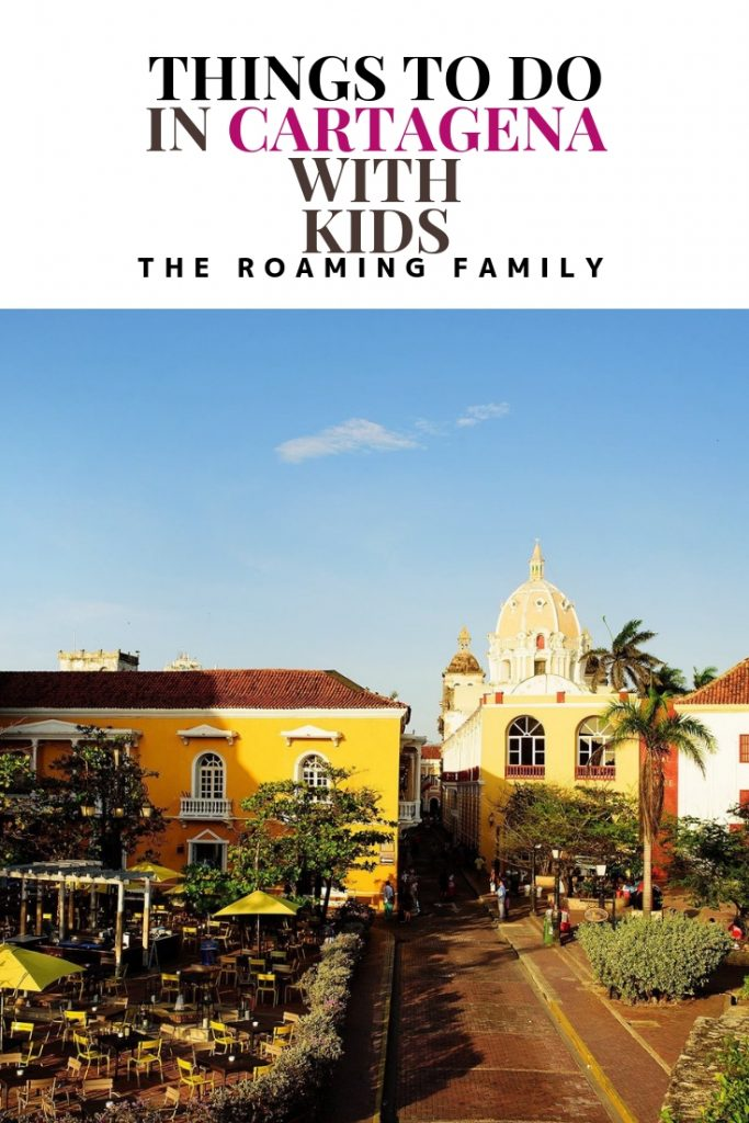 It's easy to find things to do in Cartagena with kids! This city is so family friendly!