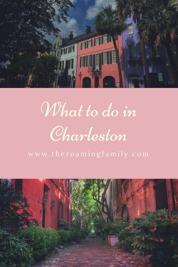 Charleston is such an amazing city. It didn't take long to figure out what to do in Charleston.