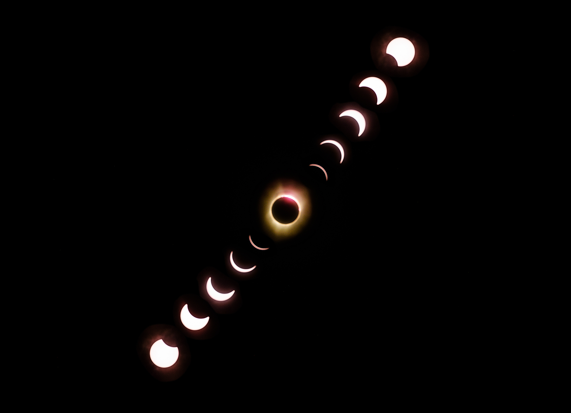 Solar Eclipse in Casper, Wyoming
