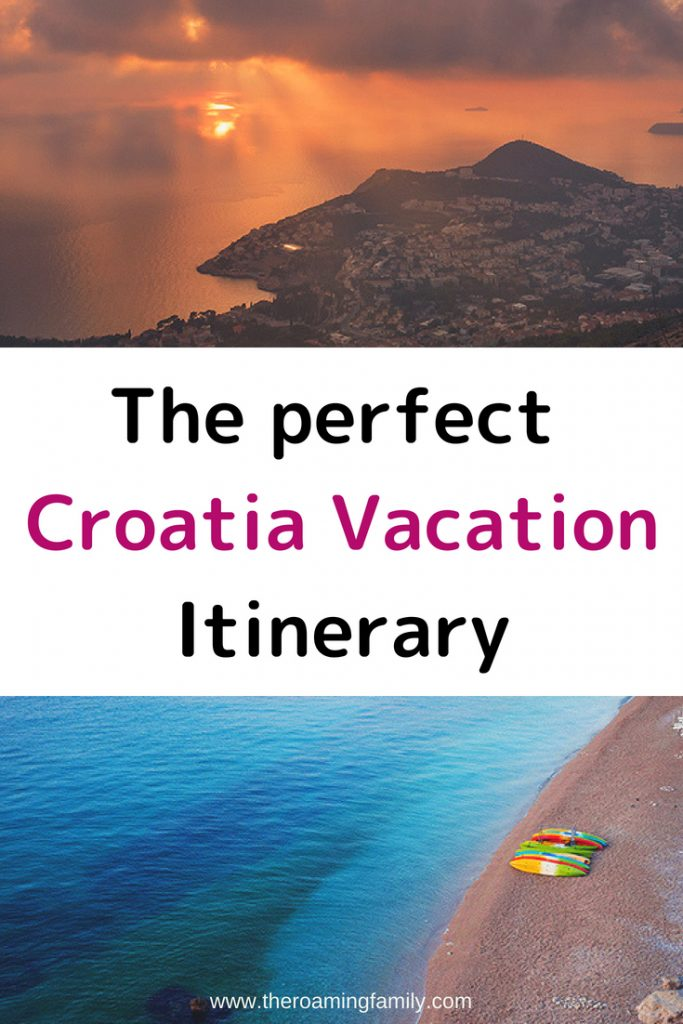 Croatia Vacation Itinerary