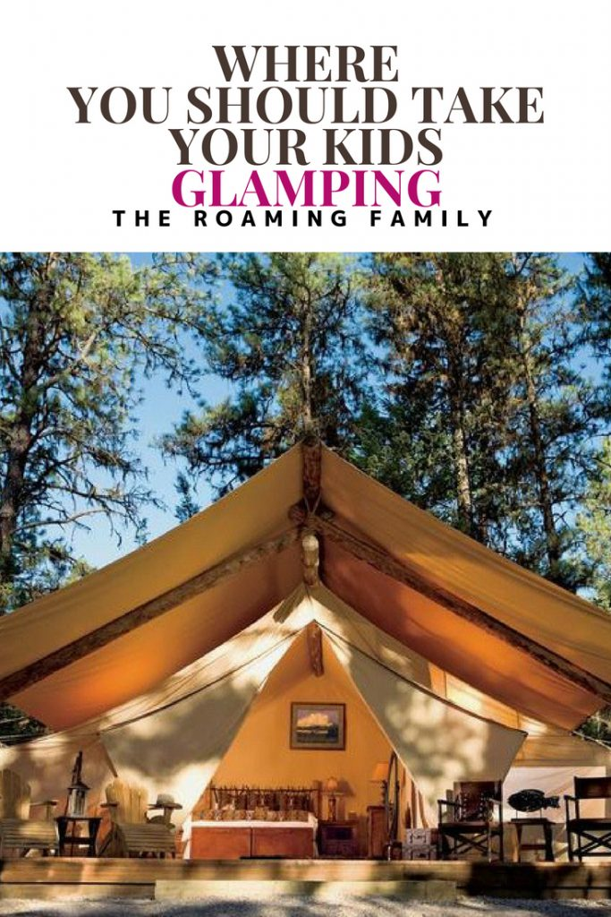 Glamping is the newest trend in travel! Here is a summary of where to go glamping with your family