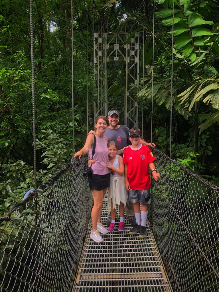 family friendly Costa Rican itinerary