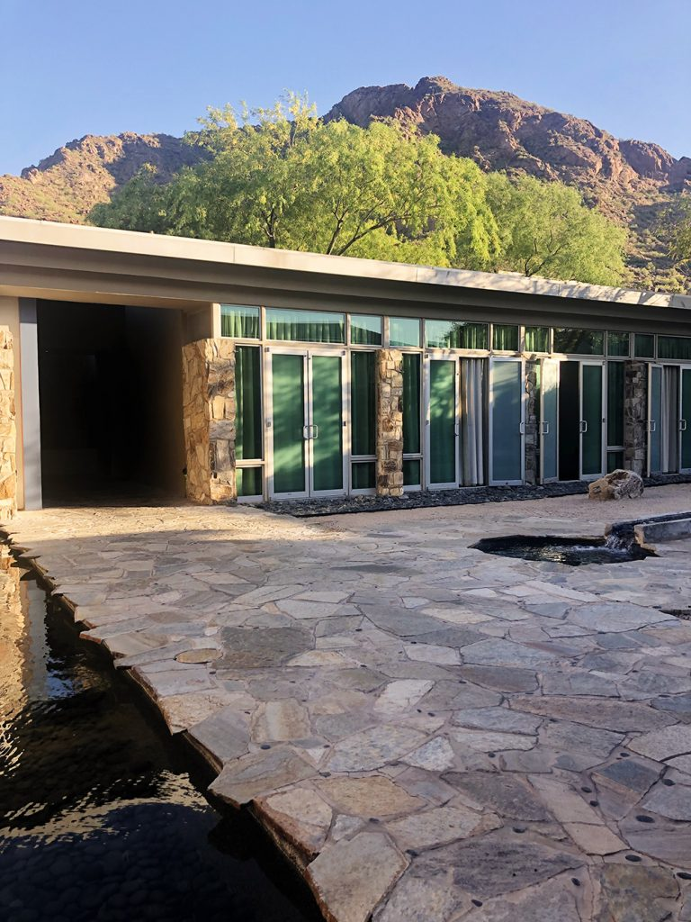 The spa at Sanctuary Camelback Mountain Resort and Spa. I loved this place!